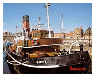 Cervia in Ramsgate Royal Harbour