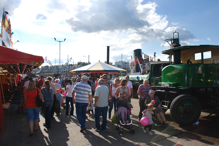HARBOUR STEAM at Ramsgate 26th &27th August 2012