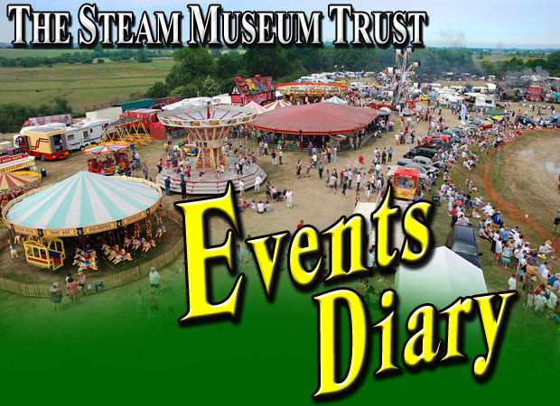 Events Diary for the Steam Museum Trust