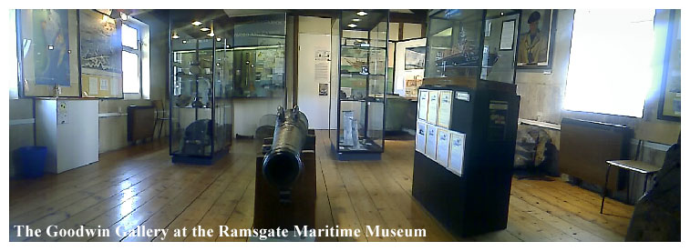 The Goodwin Gallery at the Ramsgate Maritime Museum