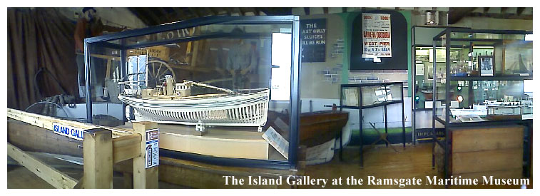 The Island Gallery at the Ramsgate Maritime Museum